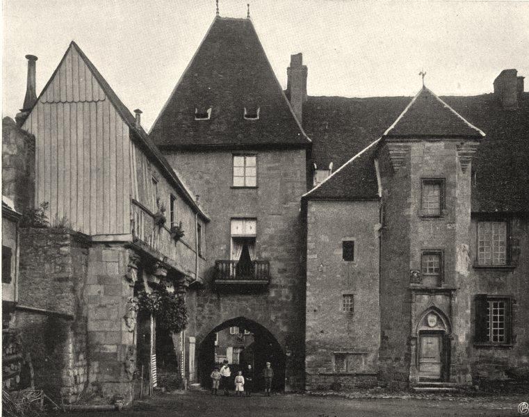 Associate Product NIÈVRE. Château de Prémery 1905 old antique vintage print picture