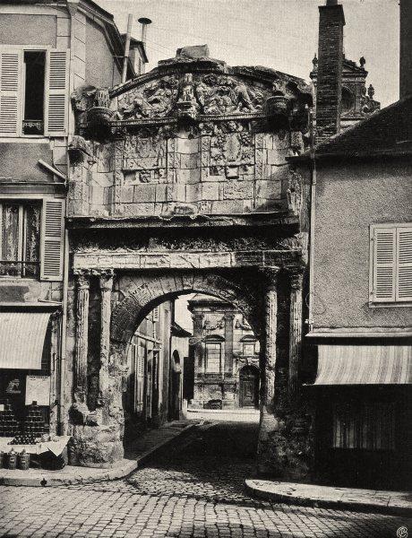 Associate Product YONNE. Auxerre- Porte Saint-pierre 1905 old antique vintage print picture