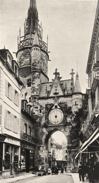 Associate Product YONNE. Auxerre- Porte de I'Horloge 1905 old antique vintage print picture