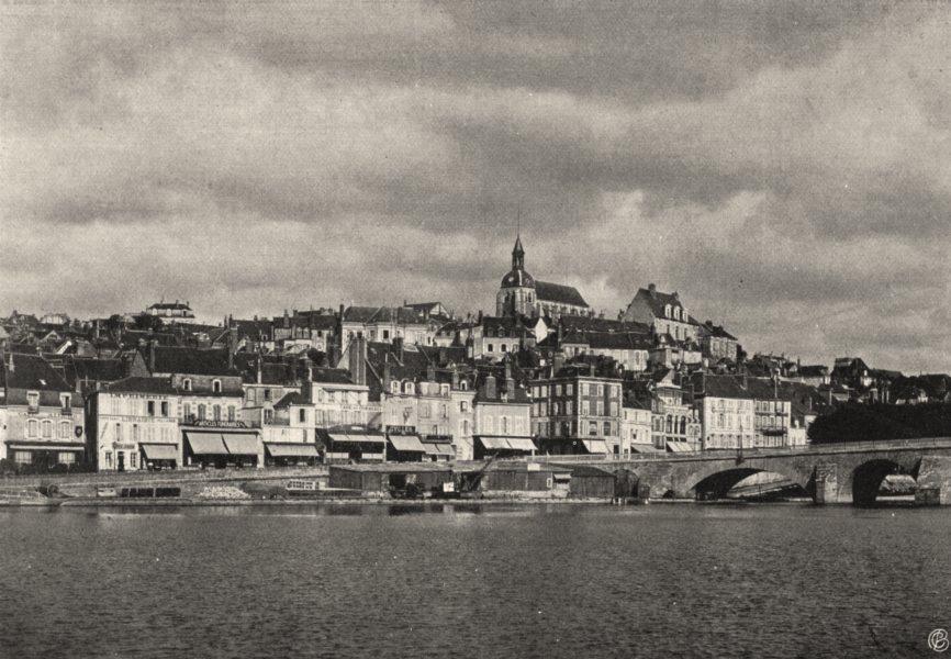 Associate Product YONNE. Joigny- Vue générale 1905 old antique vintage print picture