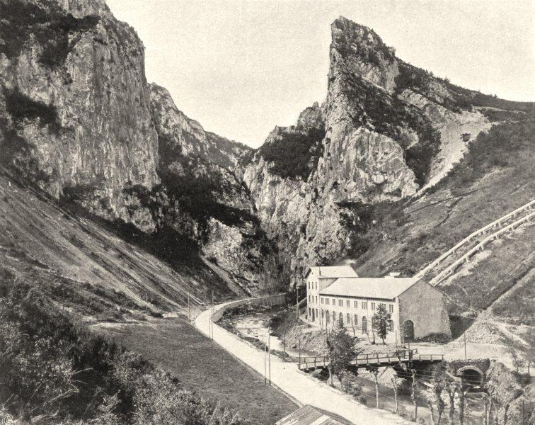 Associate Product AUDE. Défilé de Saint-Georges- L'entrée 1903 old antique vintage print picture