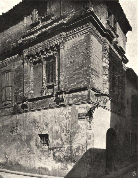 Associate Product AUDE. Narbonne- Maison des Trios- Nourrices 1903 old antique print picture