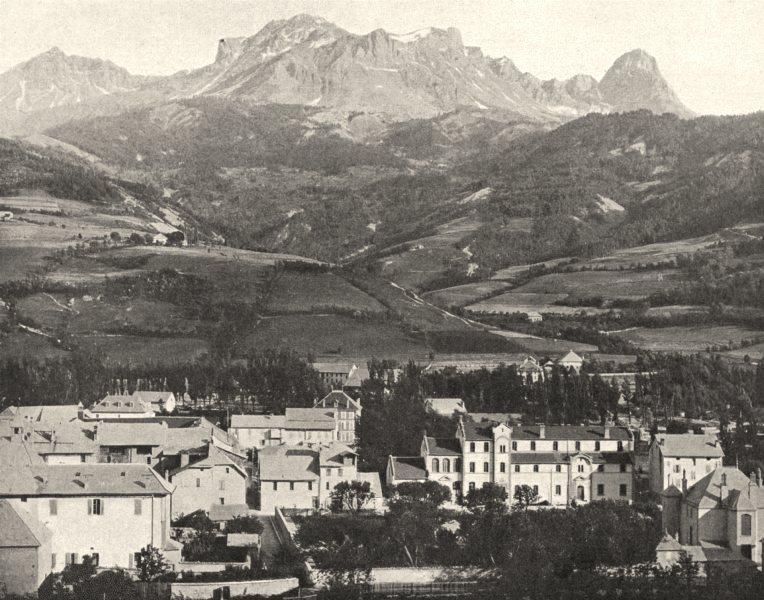 Associate Product ALPES-DE-HAUTE-PROVENCE.Générale Barcelonnette(1,133 mètres d'altitude) 1902