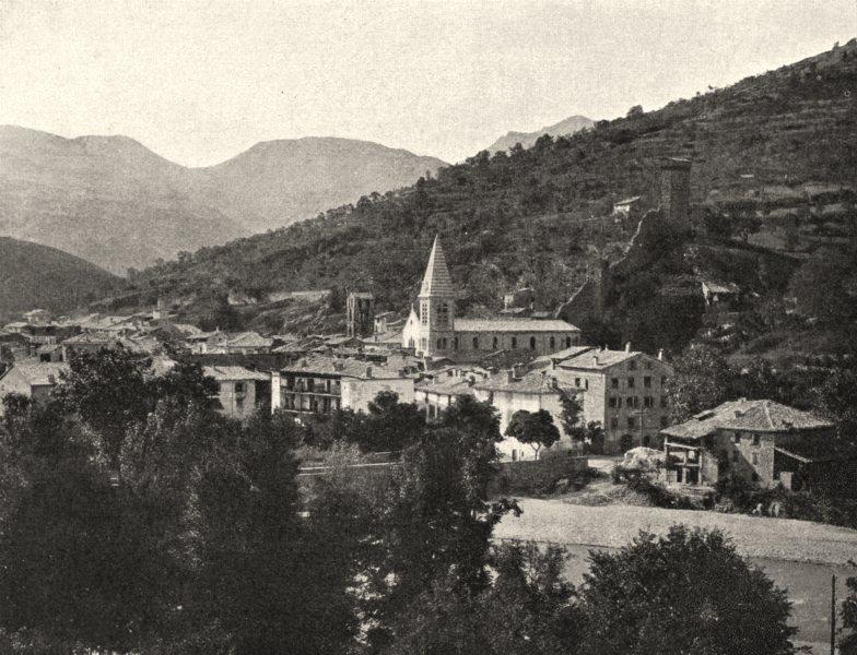 Associate Product ALPES-DE-HAUTE-PROVENCE. Vue générale Castellane (723 mètres d'altitude)  1902