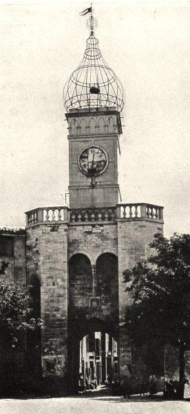 Associate Product ALPES-DE-HAUTE-PROVENCE. La porte Soubeyran, à Manosque. SMALL. 1902 old print