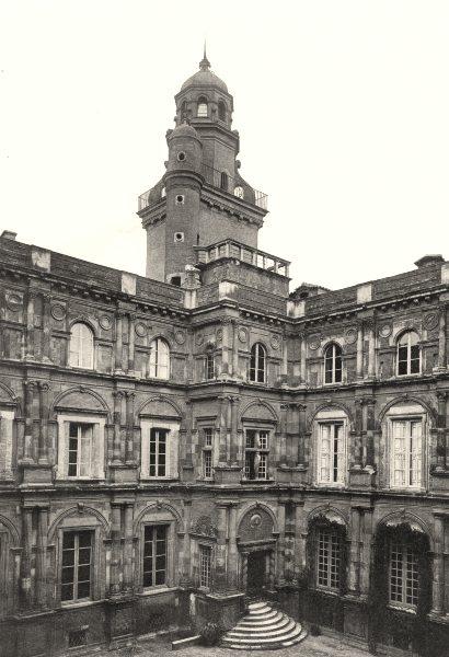 Associate Product HAUTE-GARONNE. Toulouse- Hôtel d'Assézat 1903 old antique print picture
