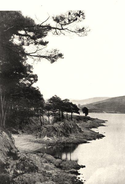 Associate Product HAUTE-GARONNE. Bassin de Saint-Ferréol 1903 old antique vintage print picture