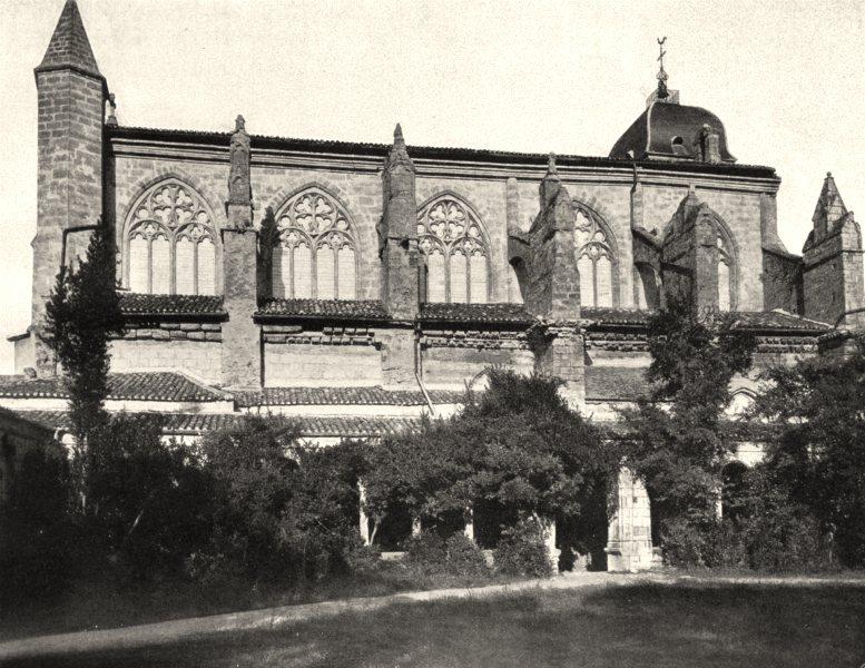 Associate Product LOT-ET-GARONNE. Marmande- Église 1903 old antique vintage print picture
