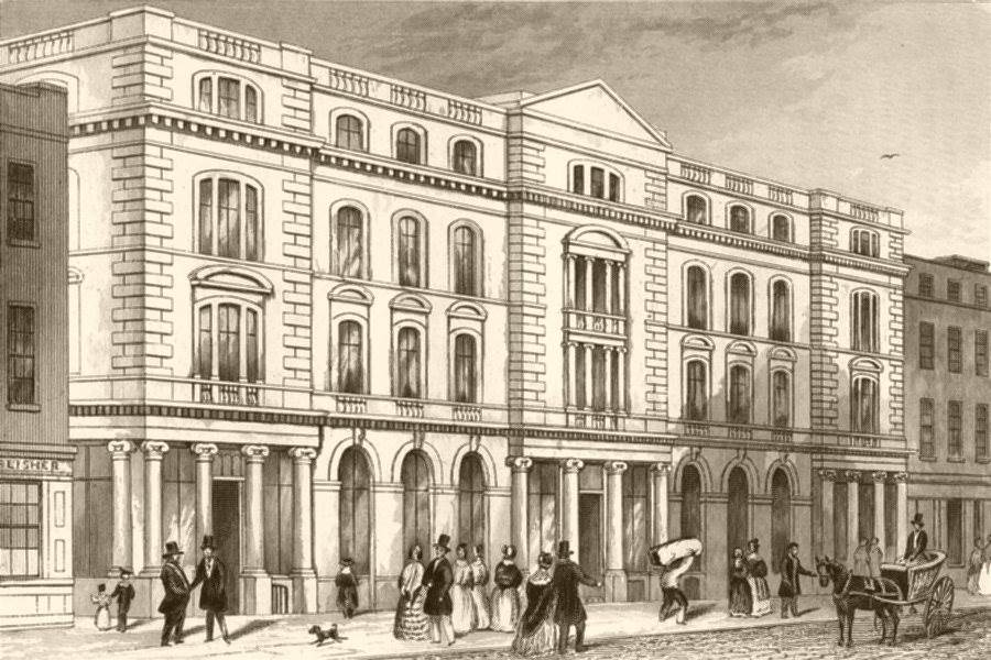 Associate Product PATERNOSTER ROW. Religious Tract Society's Repository. London. DUGDALE c1840