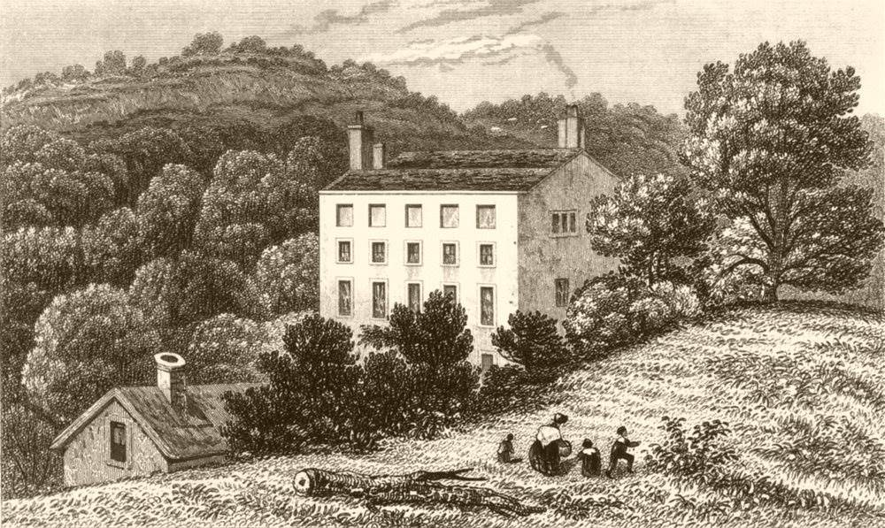 WESTERHAM. Quebec House, The Birthplace of General Wolfe. Kent. DUGDALE c1840