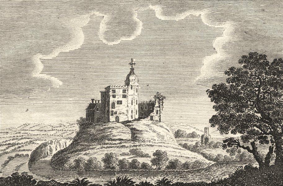 Associate Product LANCASHIRE. Copperplate. Prospects Lancaster / Liverpool. Hornby Castle 1804