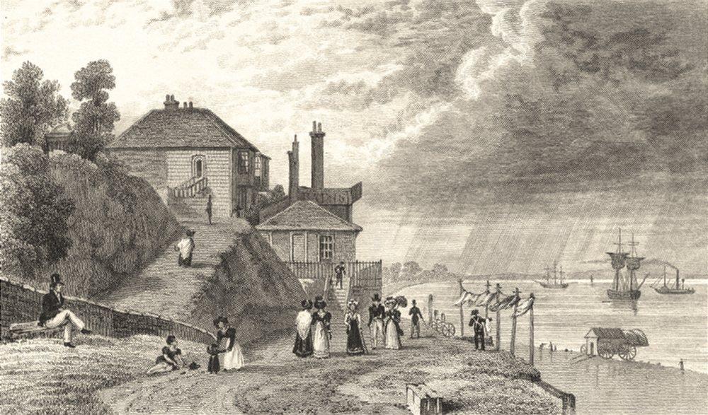 Associate Product KENT. Gravesend Set. Wh Ireland. Nice Steel Views. Gravesend 1828 old print