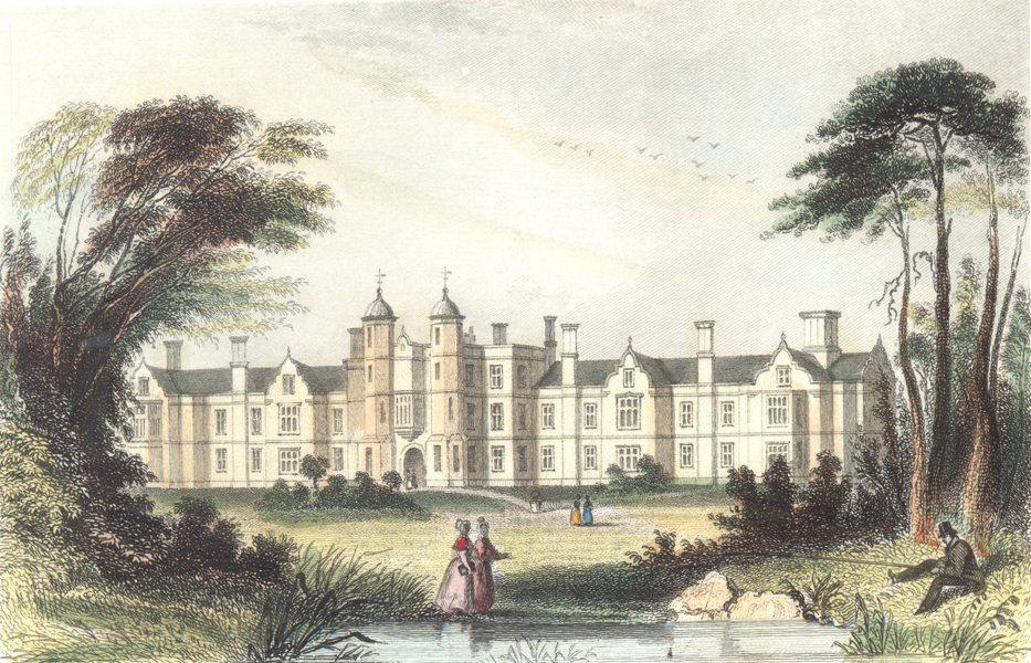 LONDON. Essex. The Infant Orphanage. Snaresbrook. (Dugdale) 1835 old print