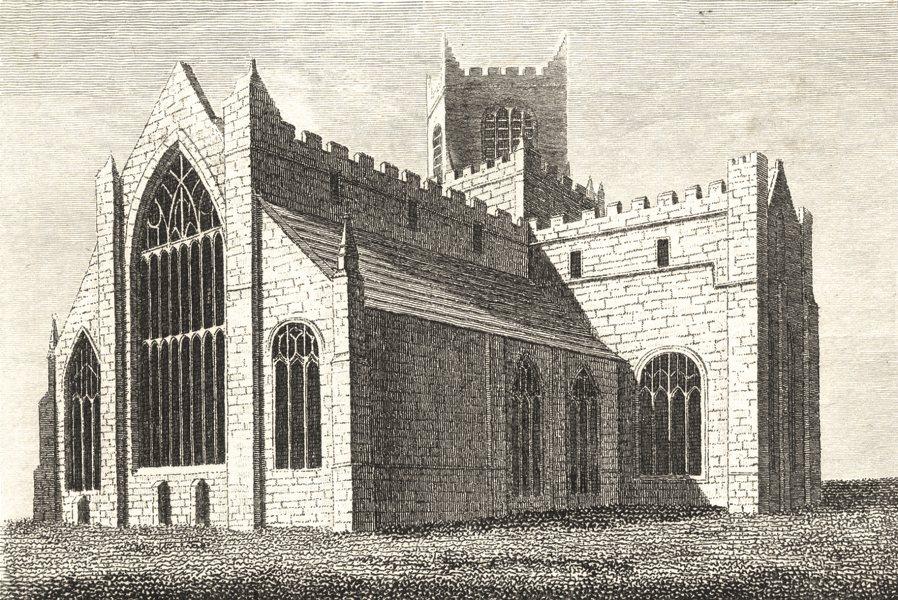 Associate Product LANCASHIRE.. Kertmele Priory, Lancashire . Copperplate (Grose) 1795 old print