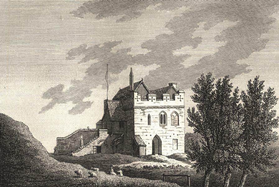 Associate Product CAMBRIDGESHIRE. Cambridge Castle. Grose. 1783 old antique print picture