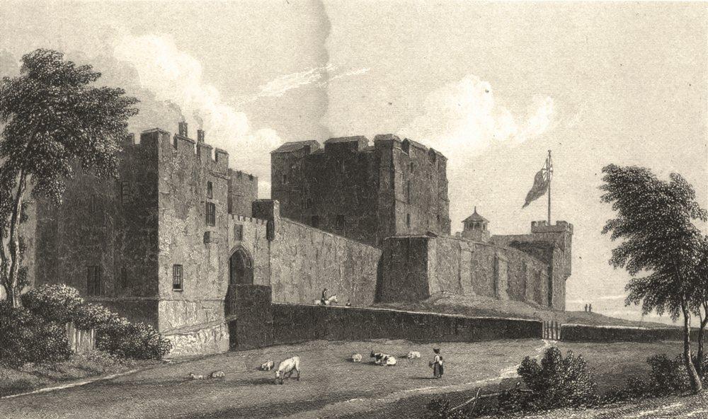 Associate Product CUMBRIA. Carlisle Castle (Westall) 1830 old antique vintage print picture