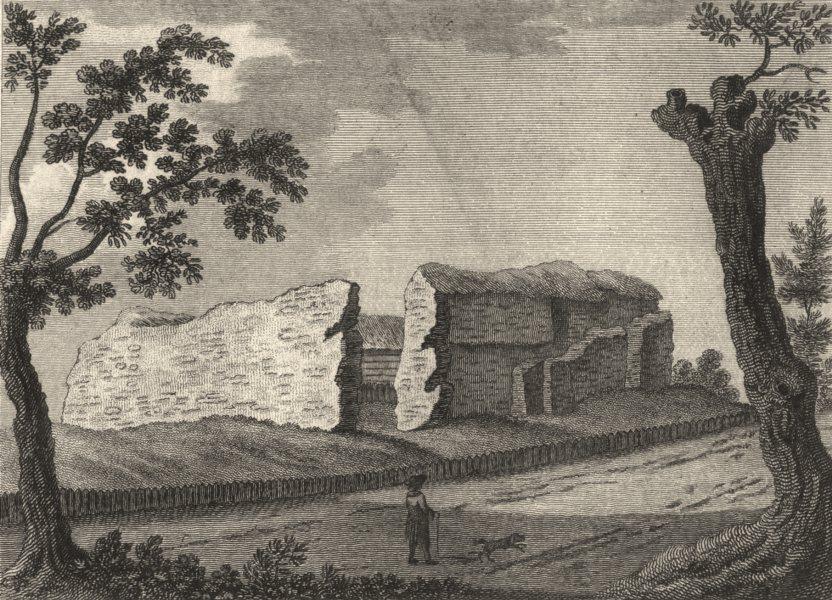 ESSEX. Saffron Walden . Copperplate (Grose) 1787 old antique print picture