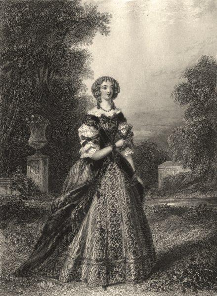 Associate Product VERSAILLES. Mademoiselle de la Valliere 1839 old antique vintage print picture