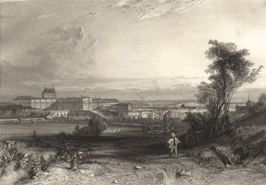 Associate Product YVELINES. Versailles 1839 old antique vintage print picture