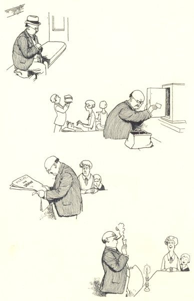 Associate Product HEATH ROBINSON. The Sweep Ticket-II. SMALL 1935 old vintage print picture