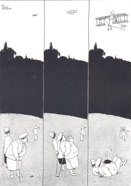 Associate Product HEATH ROBINSON GOLF. What happens if you don't keep your eye on the ball 1975