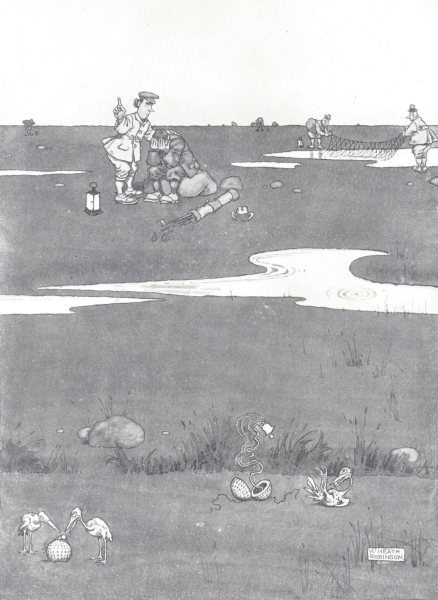 Associate Product HEATH ROBINSON. Adjustment for golf balls to disclose their whereabouts 1975