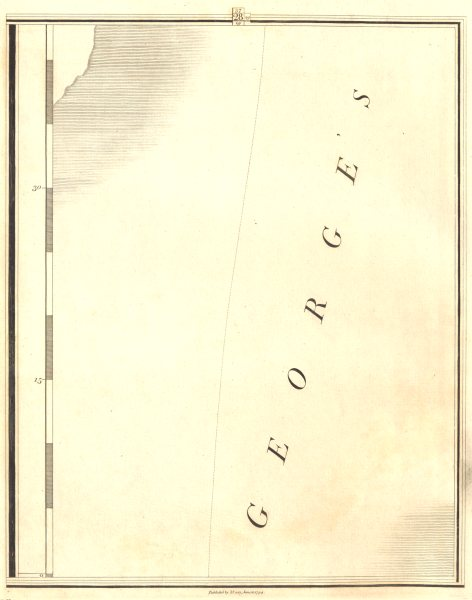 IRELAND. St George's Channel. Section 28. CARY 1794 old antique map plan chart