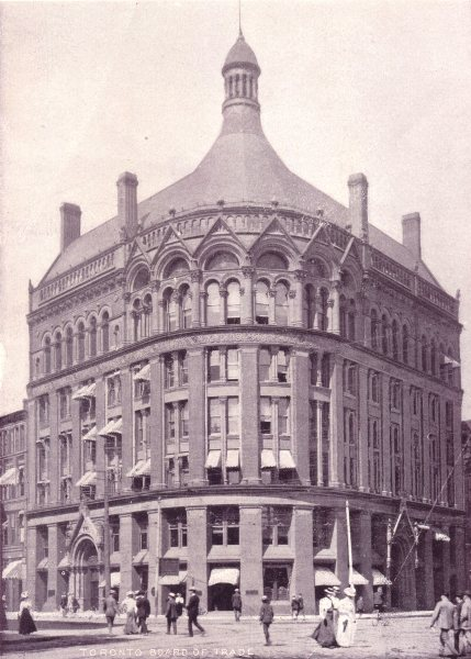 Associate Product TORONTO. Toronto Board of Trade Building. Corner of Front & Yonge Streets 1900