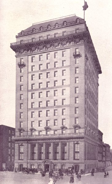 Associate Product TORONTO. Traders Bank of Canada – Yonge & Colborne Streets 1900 old print