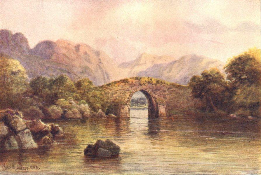 Associate Product IRELAND. Munster. Brickeen Bridge, Lower Lake, Killarney c1912 old print