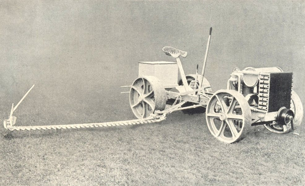 Associate Product AGRICULTURAL MOTORS. General Tractor (Cyclone Cot, London) 1912 old print