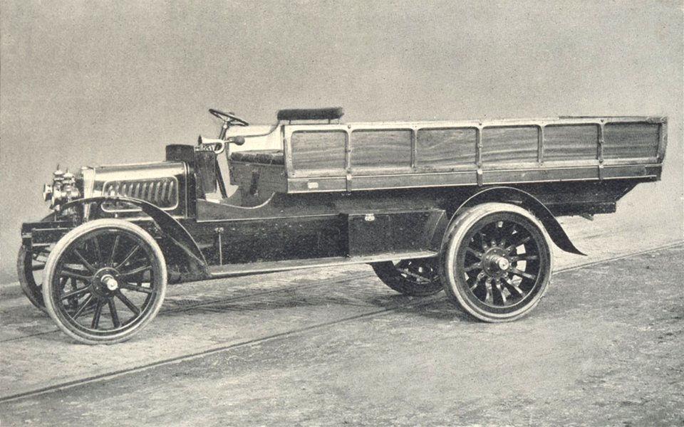 Associate Product FARM MOTORS. Commercial Motor Vehicle (Albion Car Co. Scotstoun) 1912 print