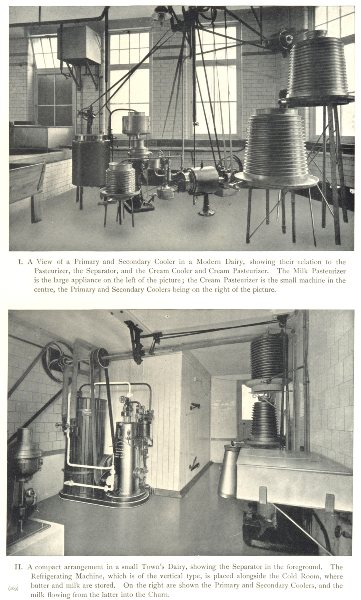 Associate Product DAIRY REFRIGERATION. Primary and Secondary Cooler. Pasteurizer 1912 old print