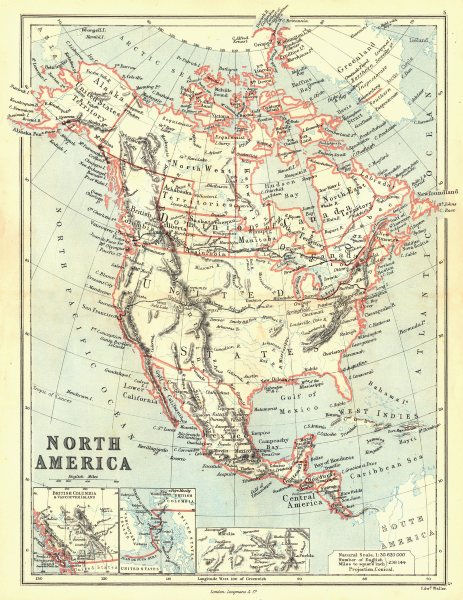 Associate Product US/CANADA. Assiniboia Athabaska Keewatin Union/Canadian Pacific. BUTLER 1888 map