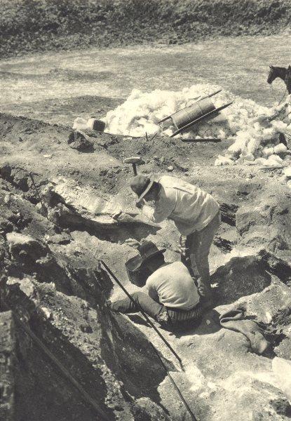 Associate Product CHILE. Salar de Atacama. Minas de Sal gema. Rock salt mines 1932 old print