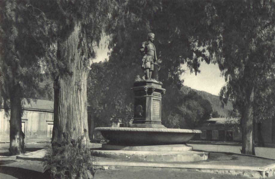 Associate Product CHILE. Copiapó. Monumento a Juan Godoy. Copiapo. Monument to Juan Godoy 1932