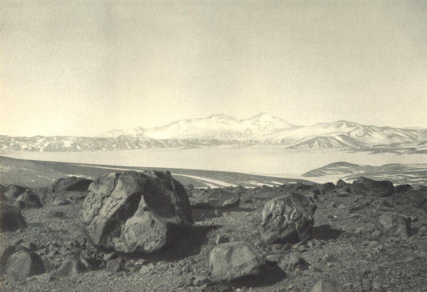 Associate Product CHILE. Paso de Maricunga. Cordillera Claudio Gay 1932 old vintage print