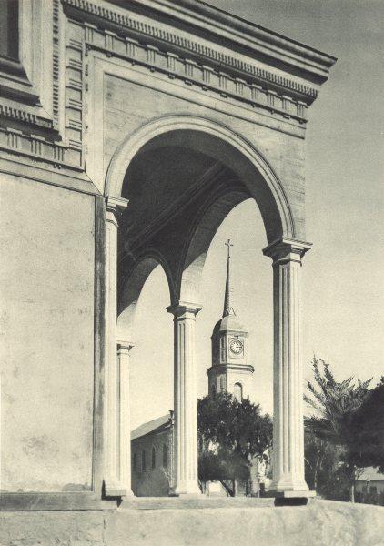 Associate Product CHILE. Freirina. Rincón de la Plaza. Freirina. Corner of the Plaza 1932 print