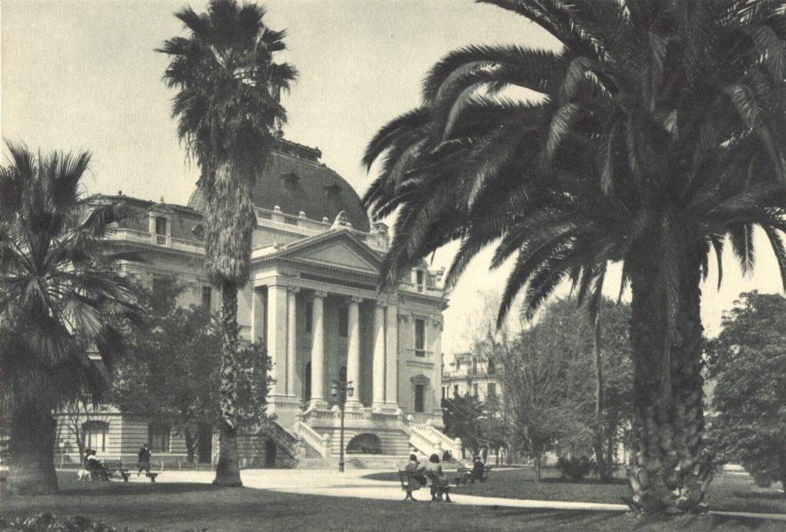 Associate Product CHILE. Santiago. Escuela de Bellas Artes. School of Fine Arts 1932 old print