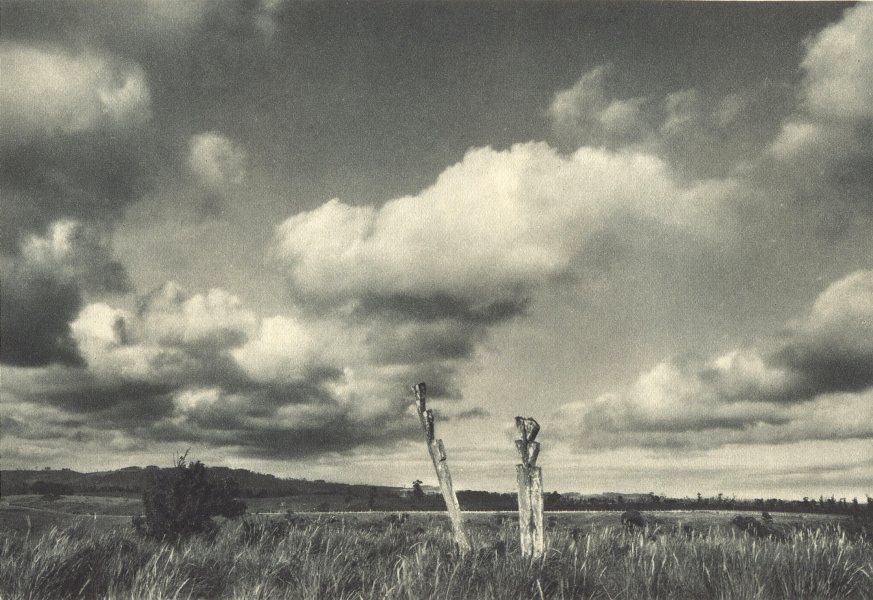Associate Product CHILE. Lago Budi. Tumbas Araucanas. Lake Budi. Araucanas tombs 1932 old print