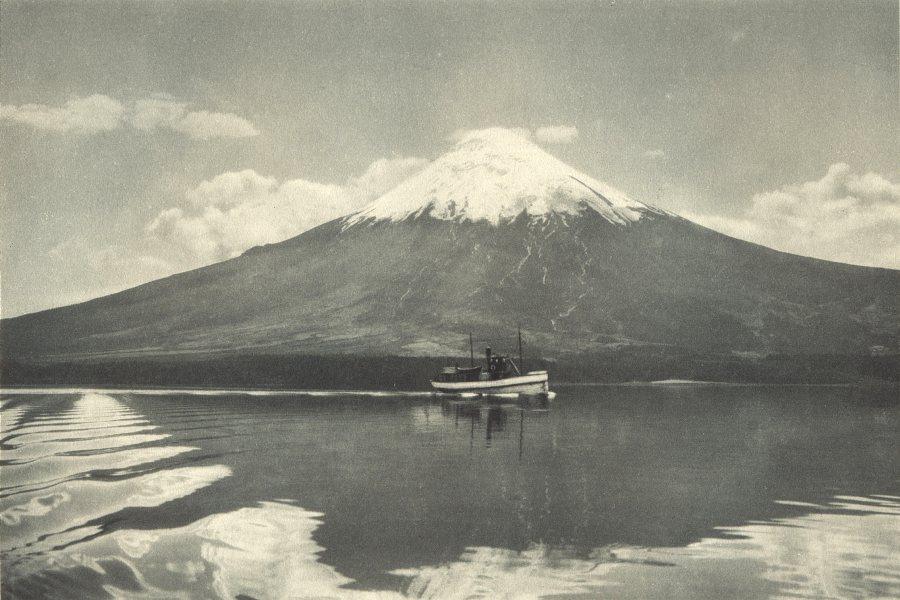 Associate Product CHILE. Lago Todos Los Santos. Volcan Osorno. Lake. Volcano 1932 old print