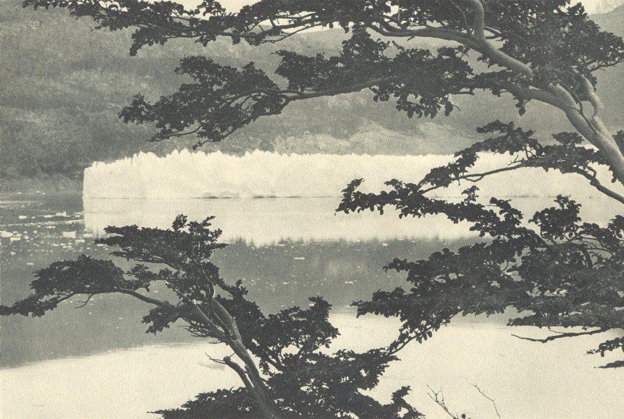 Associate Product CHILEAN PATAGONIA. Lago Grey. Lake Grey. Glacier 1932 old vintage print