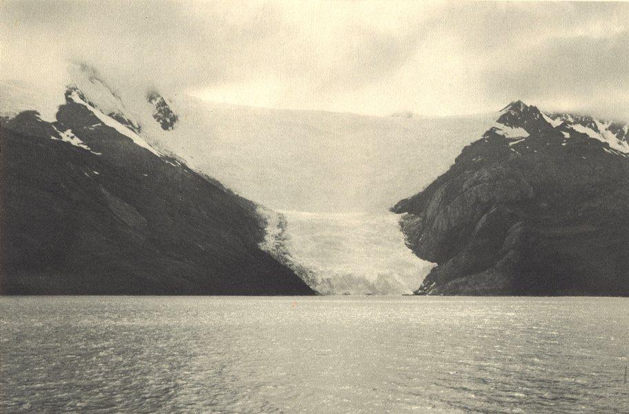 Associate Product CHILEAN PATAGONIA. Ventisquero Italia (Canal Beagle) . Glacier (Channel) 1932