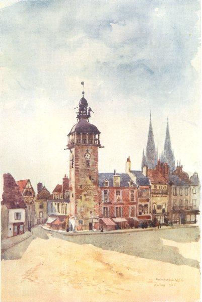 Associate Product ILLE-ET-VILAINE. Moulins. Shops 1907 old antique vintage print picture