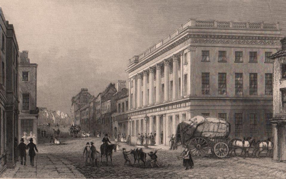 Associate Product NORTHUMBERLAND. Royal Arcade, Newcastle-upon-Tyne. ALLOM 1839 old print