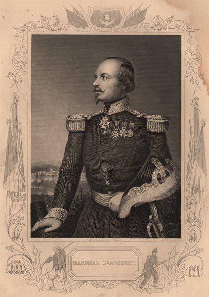 Associate Product CRIMEAN WAR. Marshal Canrobert 1860 old antique vintage print picture