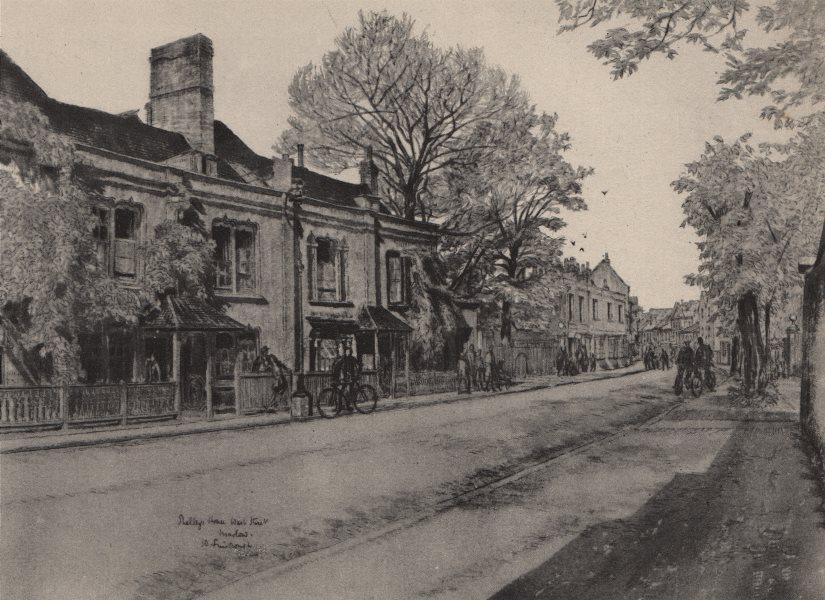 Associate Product MARLOW. Shelley's House, West Street, by W. Fairclough. Buckinghamshire 1947