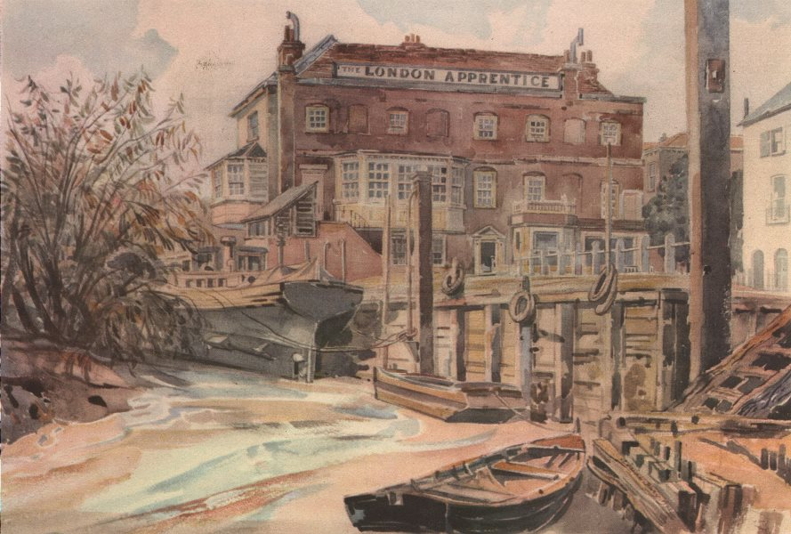 Associate Product ISLEWORTH. The London Apprentice, by Adrian Bury. Pubs 1947 old vintage print