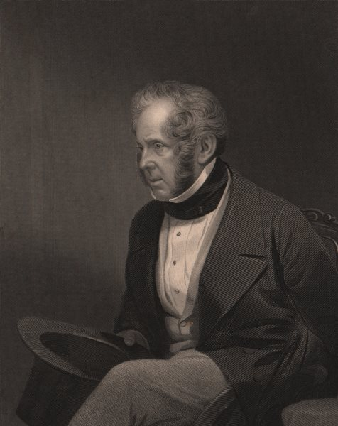 Associate Product PRIME-MINISTER. The Right Hon. Viscount Palmerston. Peers 1875 old print