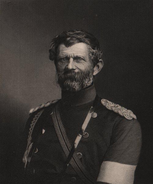 Associate Product FRANCO-PRUSSIAN WAR. Generalfeldmarschall Edwin Freiherr von Manteuffel 1875